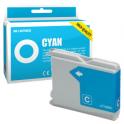 Cartucho de tinta compatible  -  BROTHER LC970  -  cian  -  (LC970-C)