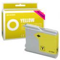Cartucho de tinta compatible  -  BROTHER LC970  -  amarillo  -  (LC970-Y)