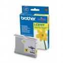 Cartucho de tinta original  -  BROTHER LC970  -  amarillo  -  (LC970-Y)
